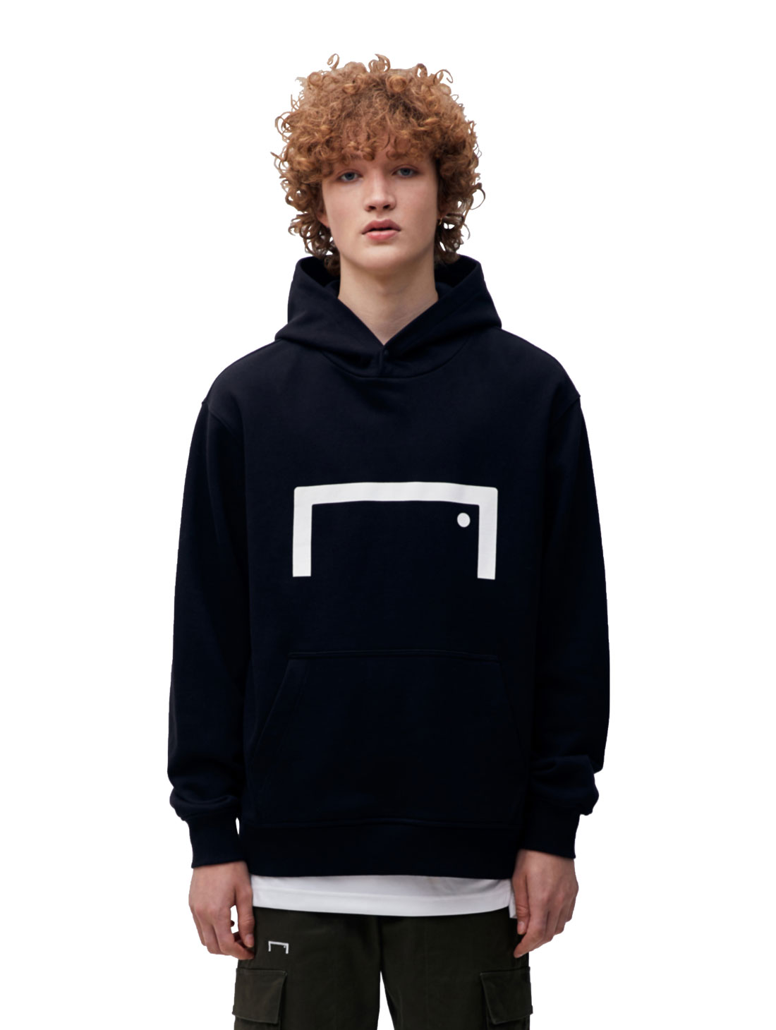(Less than 5) STRIKER HOODIE - BLACK