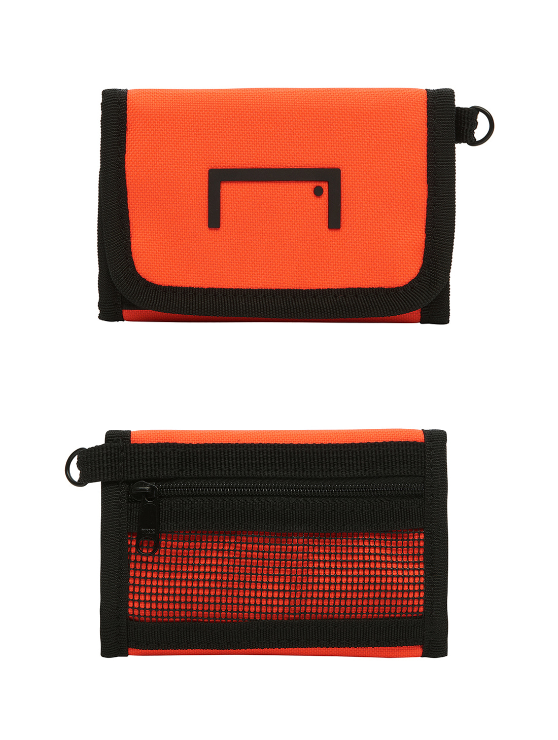 VELCRO WALLET - ORANGE