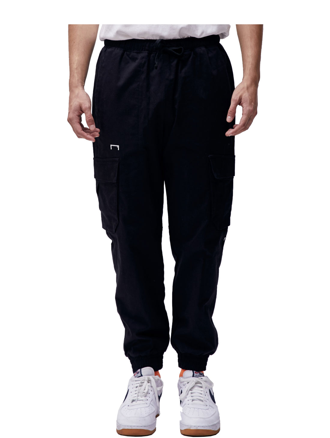 (Sold Out) CARGO JOGGER PANTS - BLACK