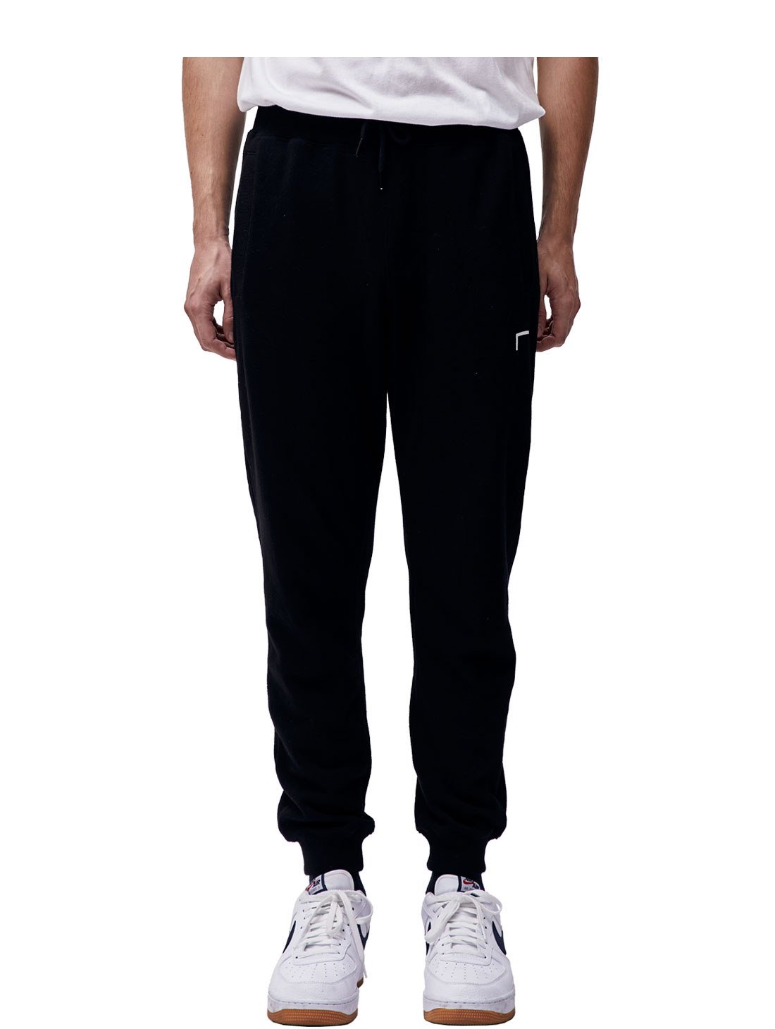 (Sold Out) GOAL KNIT JOGGER PANTS - BLACK