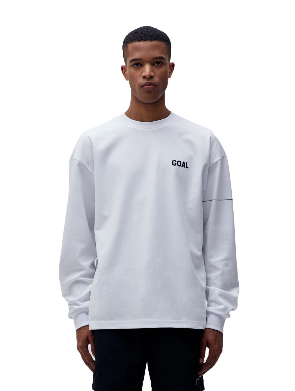 LTG LONG SLEEVE TEE - WHITE