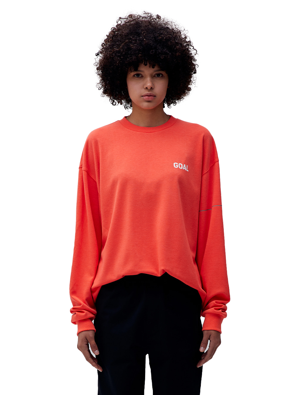 LTG LONG SLEEVE TEE - ORANGE