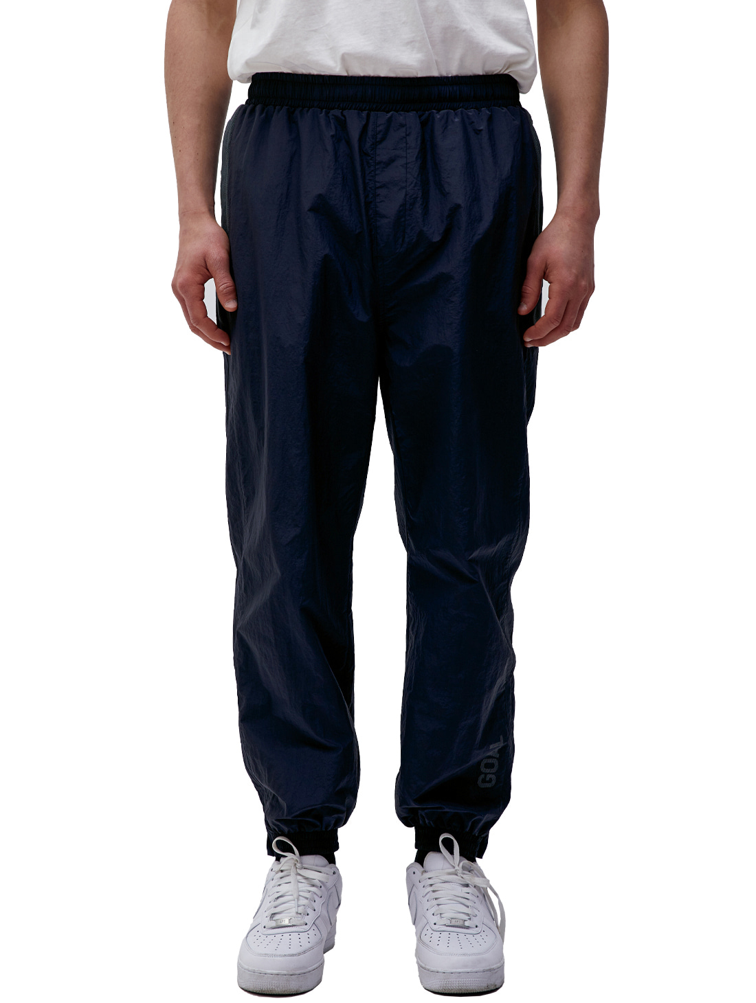 WARMUP PANTS - NAVY