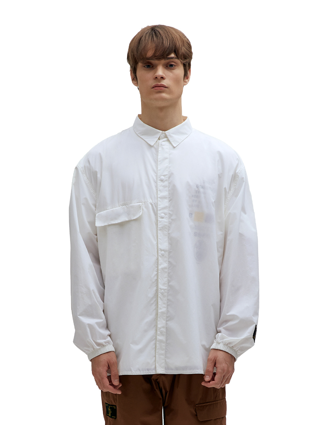 SSFC WINDBREAKER SHIRT - WHITE