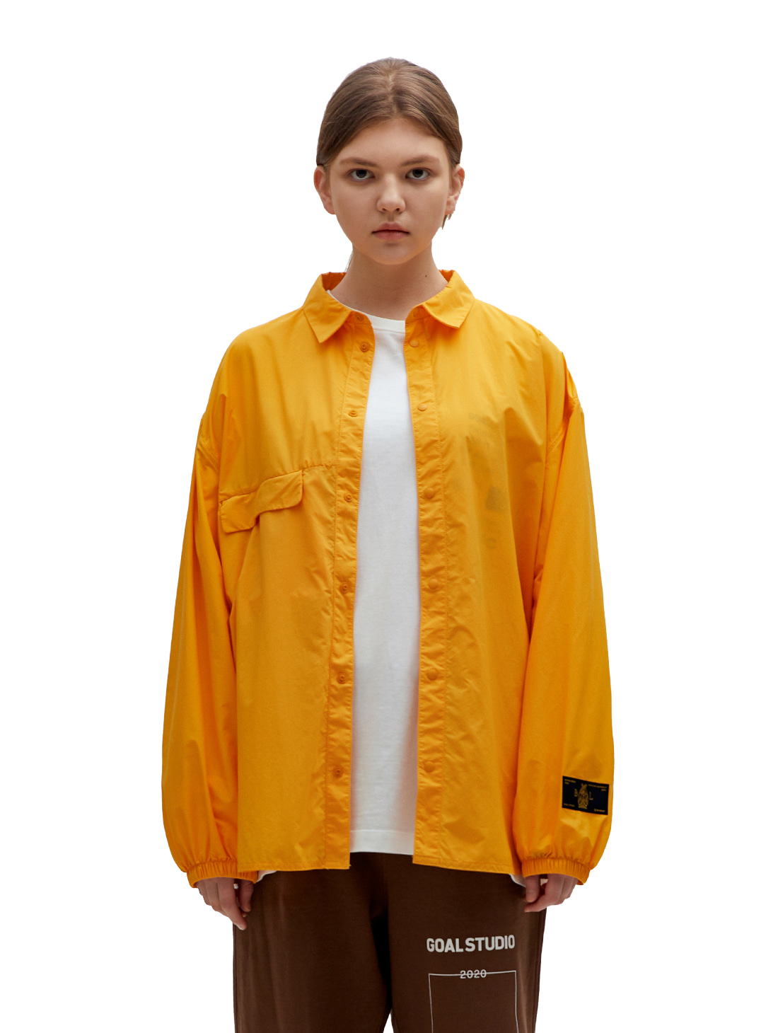 SSFC WINDBREAKER SHIRT - YELLOW