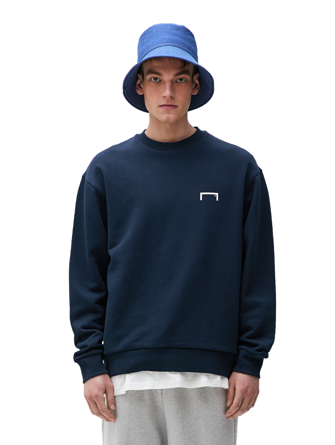 PULSE GRAPHIC SWEATSHIRT - NAVY