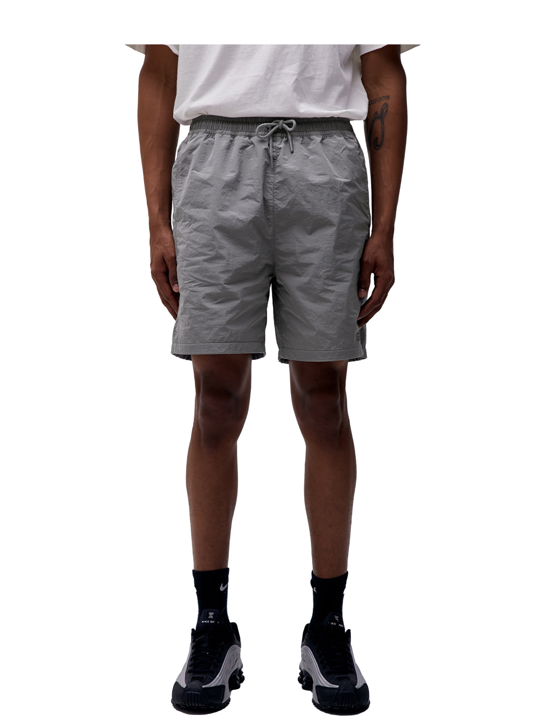 (Sold Out) SOLID SHORTS - GREY