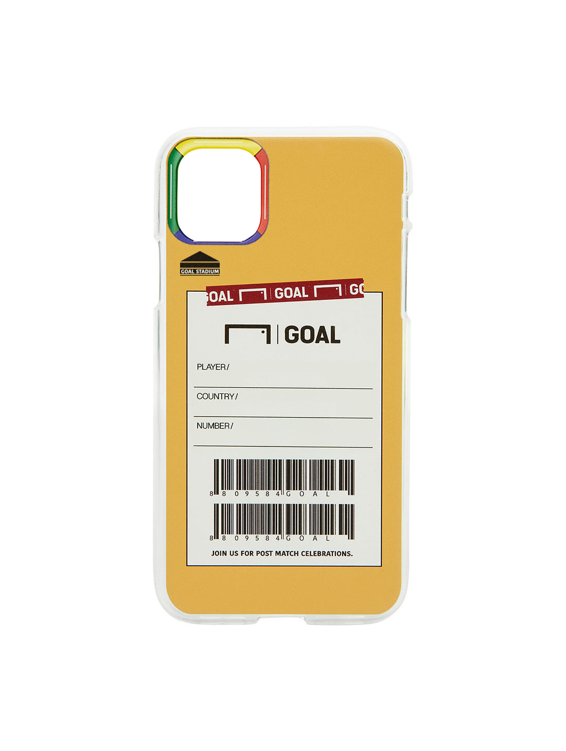 GOALSTUDIO CUSTOM PHONECASE - ORANGE(iPhone)
