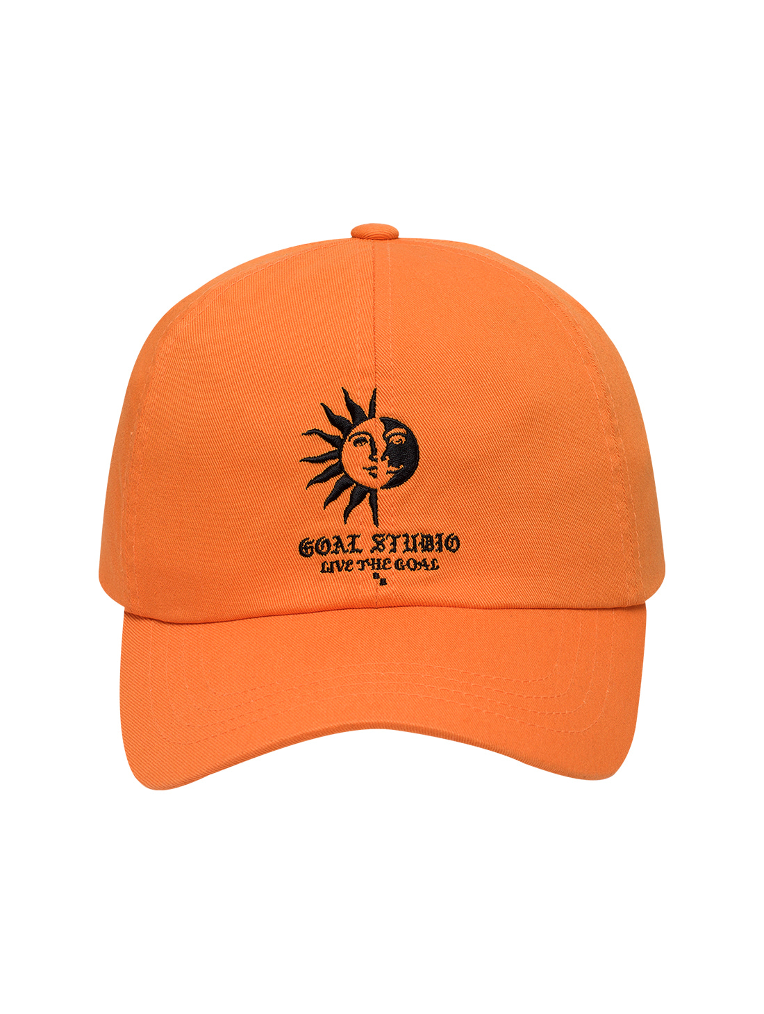 MC BALL CAP - ORANGE
