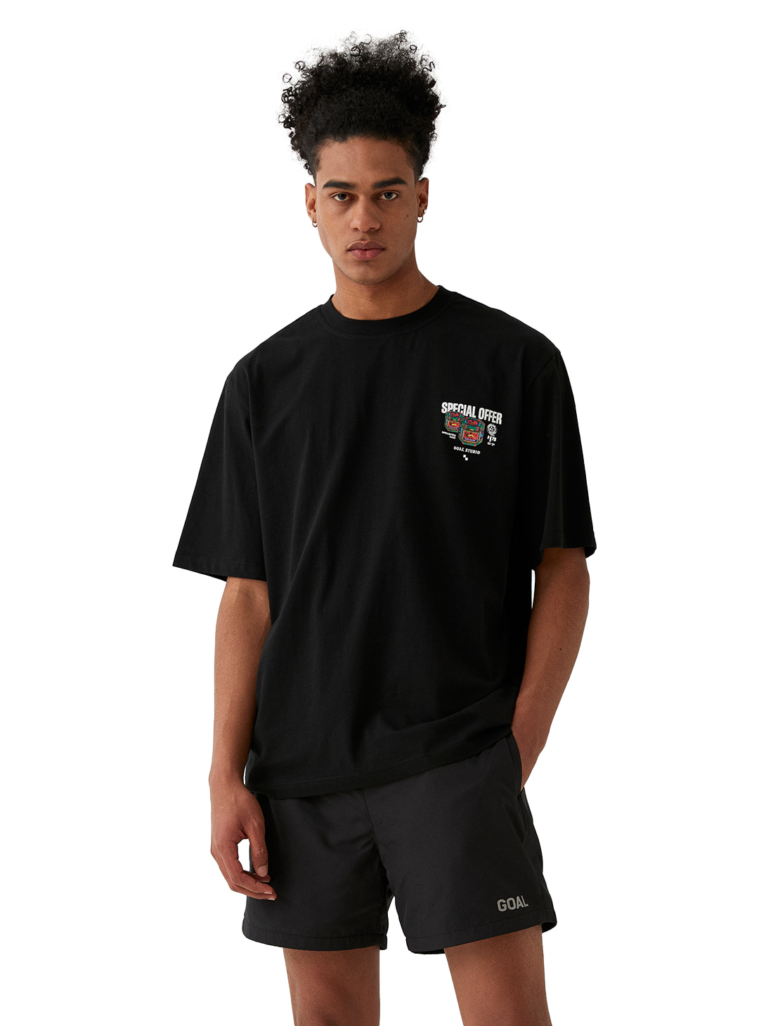 MC BALM LOGO GRAPHIC TEE - BLACK