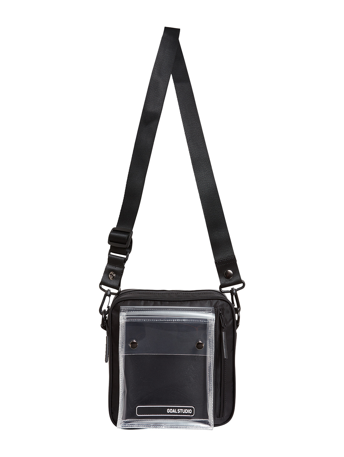 LOGO WAPPEN SMALL BAG - BLACK
