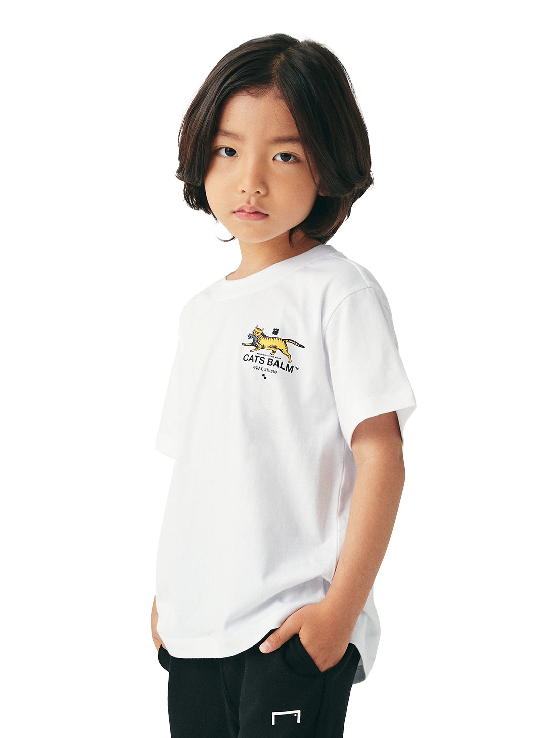(KIDS) MC BALM GRAPHIC TEE - WHITE