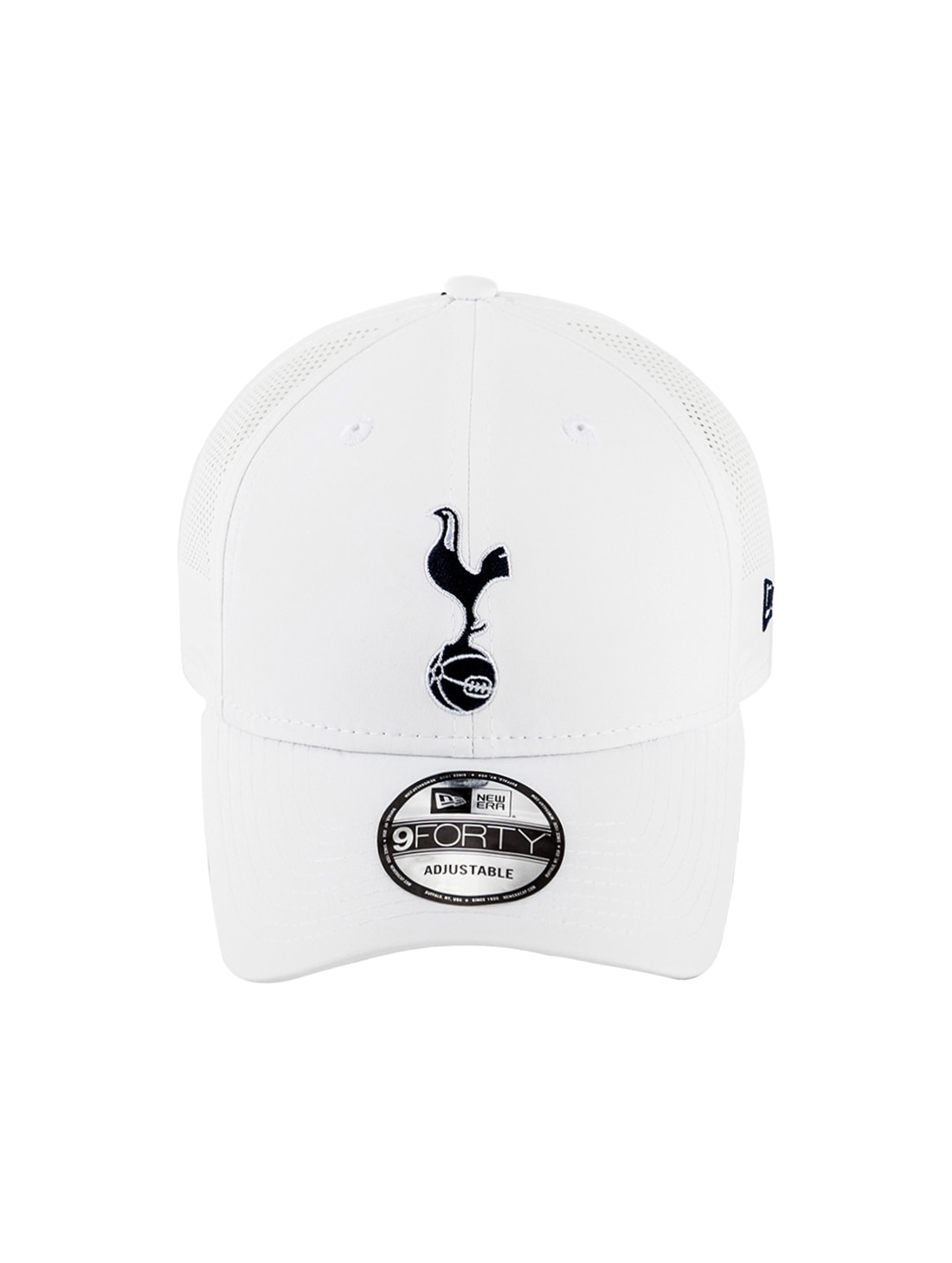 TOTTENHAM PERFORATED MESH BALL CAP - WHITE