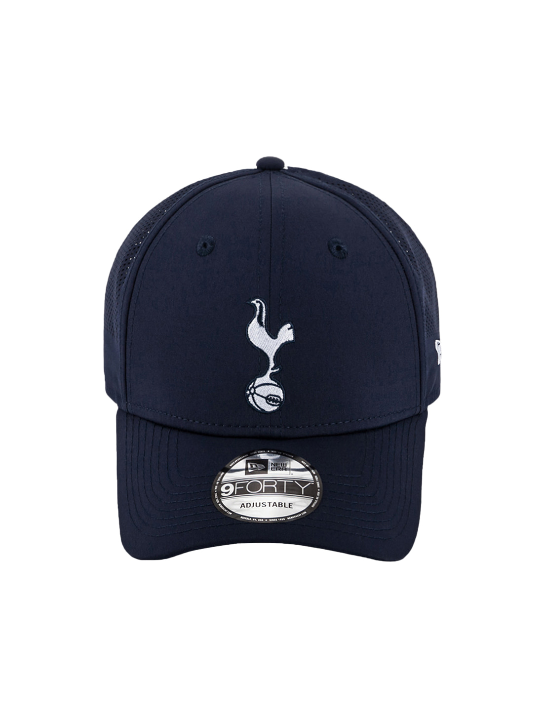 TOTTENHAM PERFORATED MESH BALL CAP - NAVY