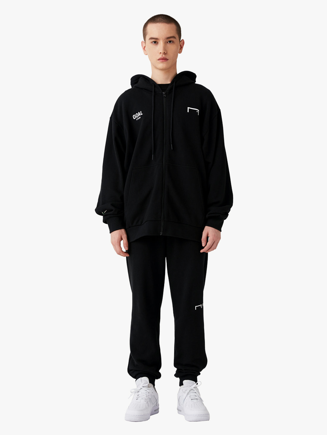 [10% OFF] SIGNATURE ZIP UP HOODIE & GOAL KNIT JOGGER PANTS 2.0 SET