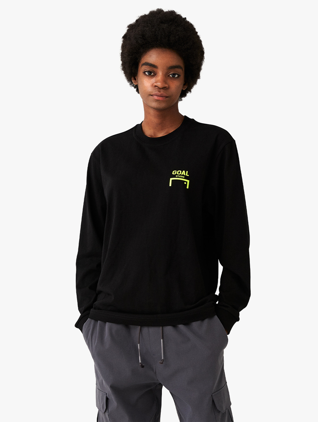LOGO LONG SLEEVE TEE (3 Colors)