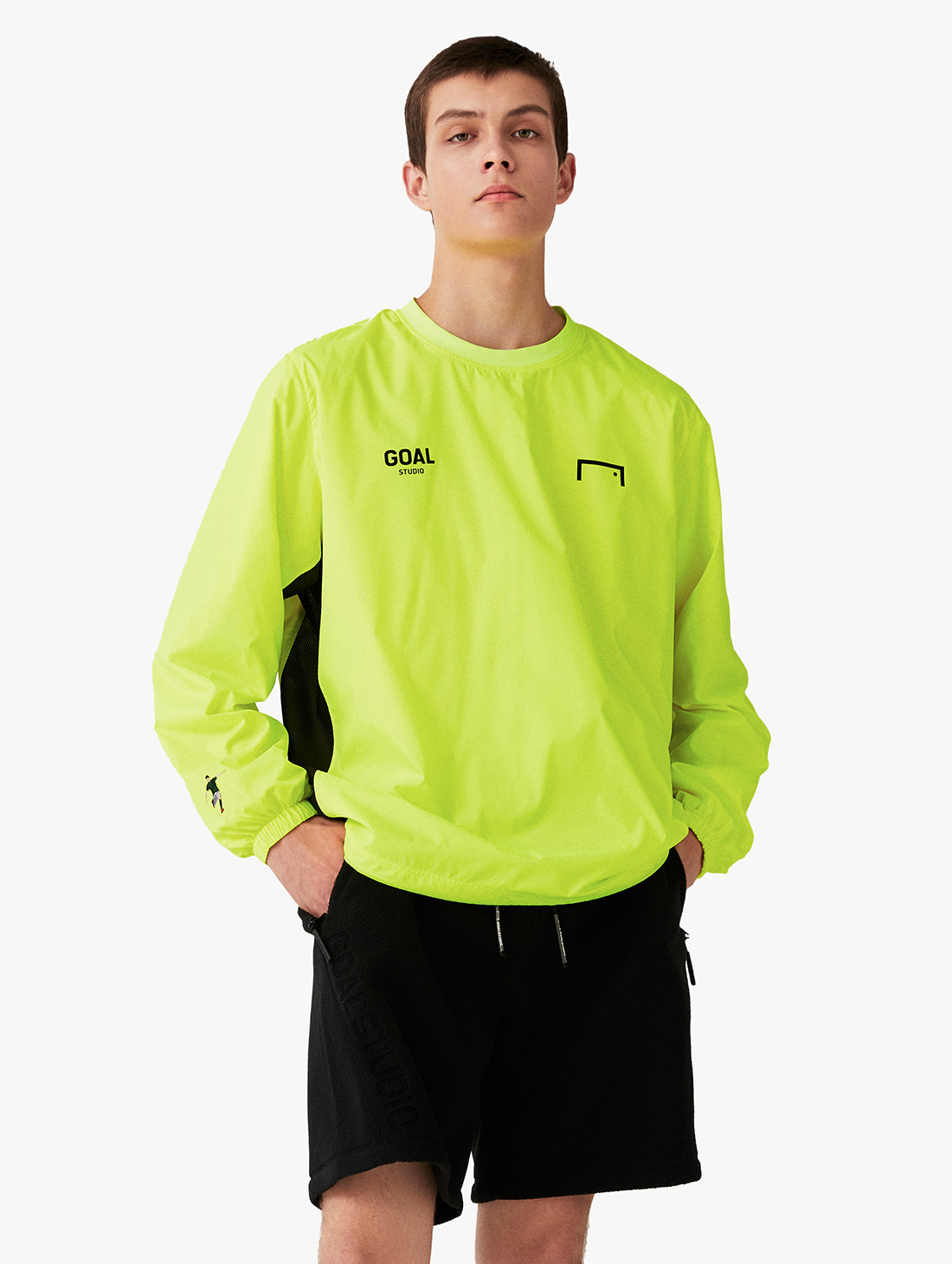 SIGNATURE LOGO WINDPULLOVER (3 Colors)