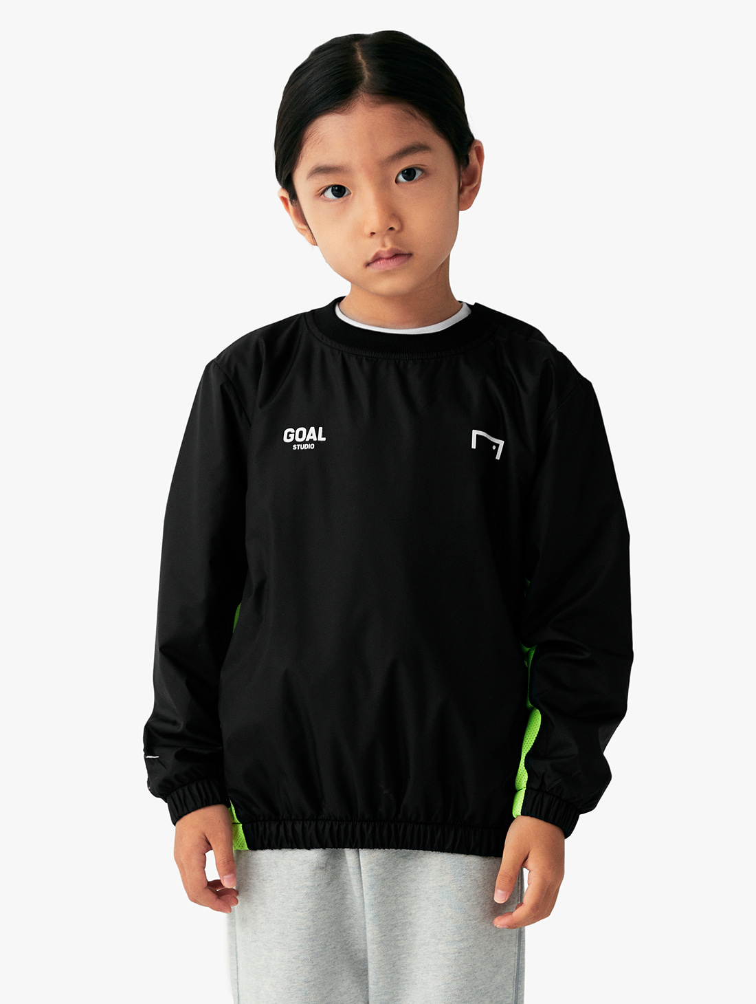 (KIDS) SIGNATURE LOGO WINDPULLOVER (3 Colors)