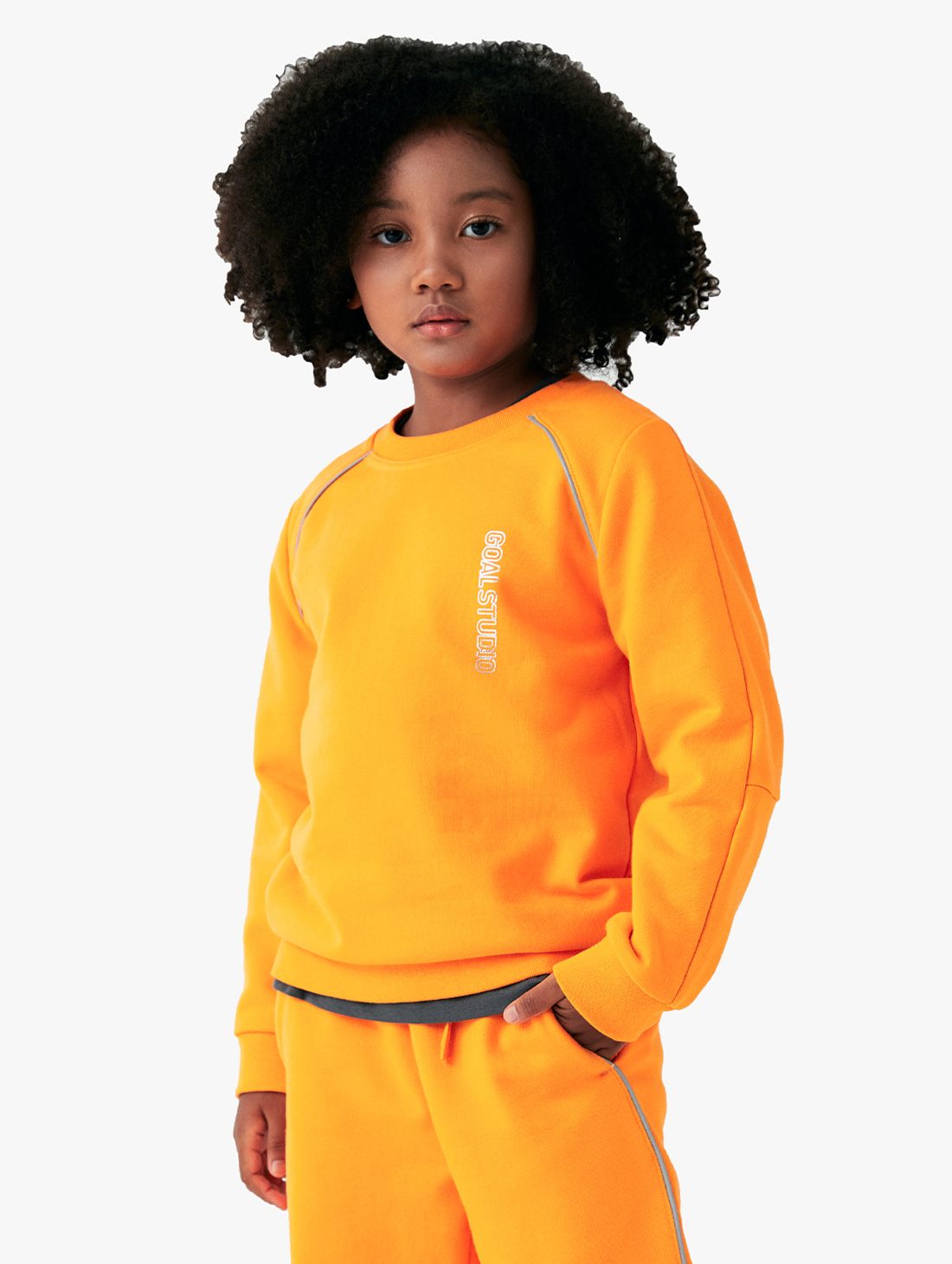 (KIDS) PIPING SWEATSHIRT (3 Colors)