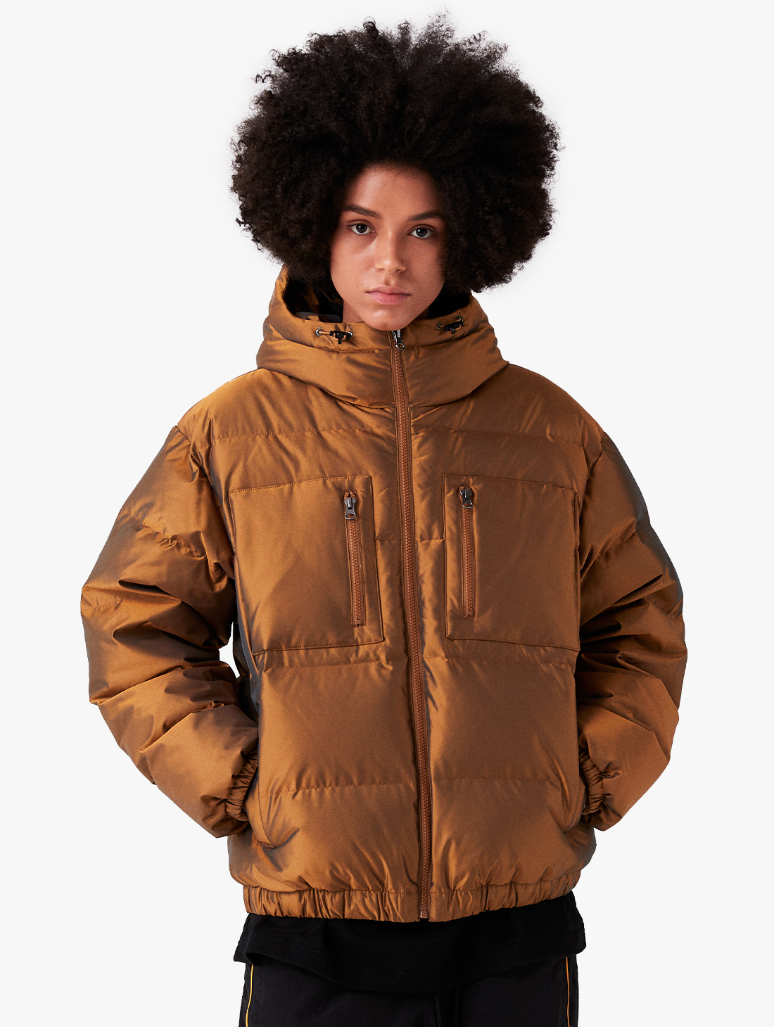 WWFC TWO TONE DOWN JACKET
