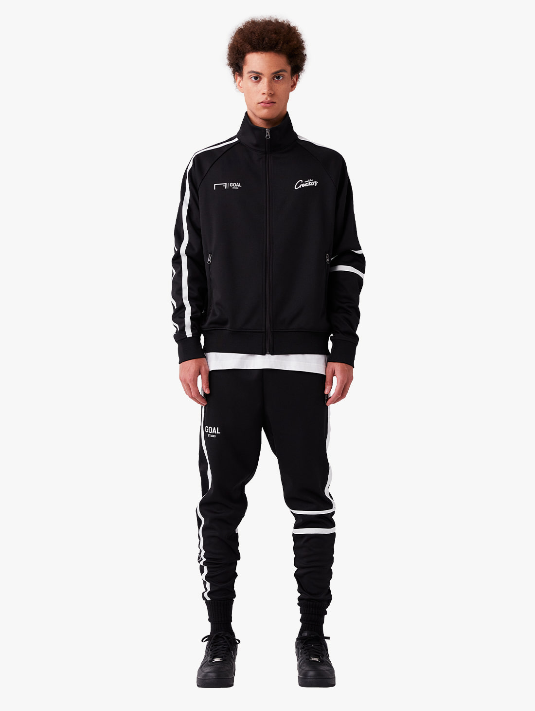 [10% OFF] CFC TRACK ZIP-UP JACKET & TRACK PANTS SET