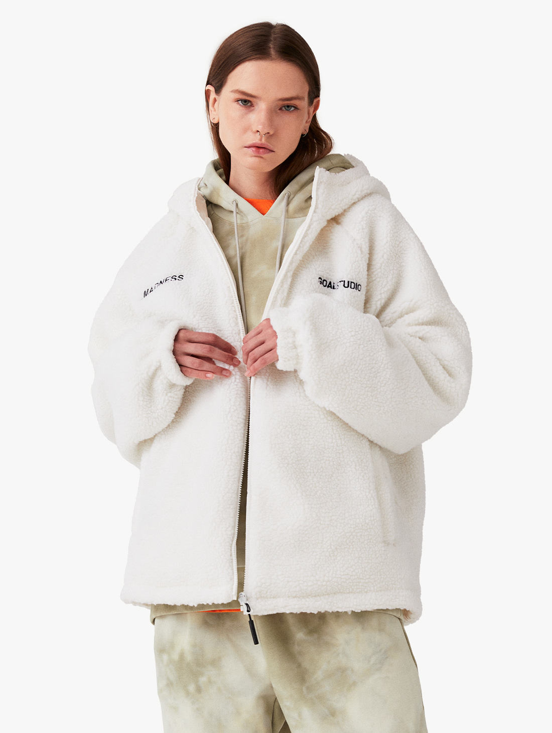 REVERSIBLE SHERPA PADDED JACKET (3 Colors)