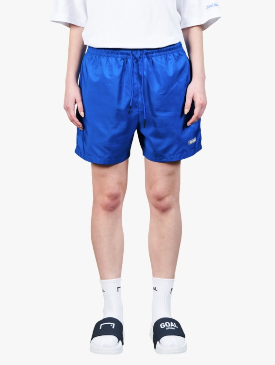 REFLECTIVE LABEL SHORTS - BLUE