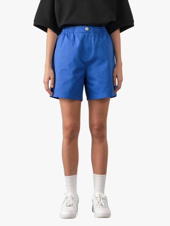 FREE KICK CAPSULE COTTON CHINO SHORTS - BLUE