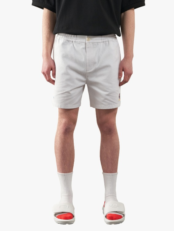 FREE KICK CAPSULE COTTON CHINO SHORTS - WHITE