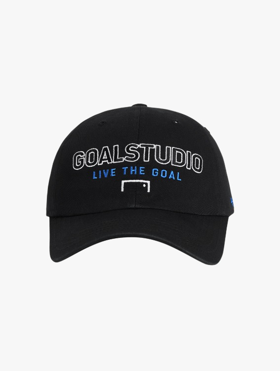 FREE KICK CAPSULE LOGO BALL CAP - BLACK