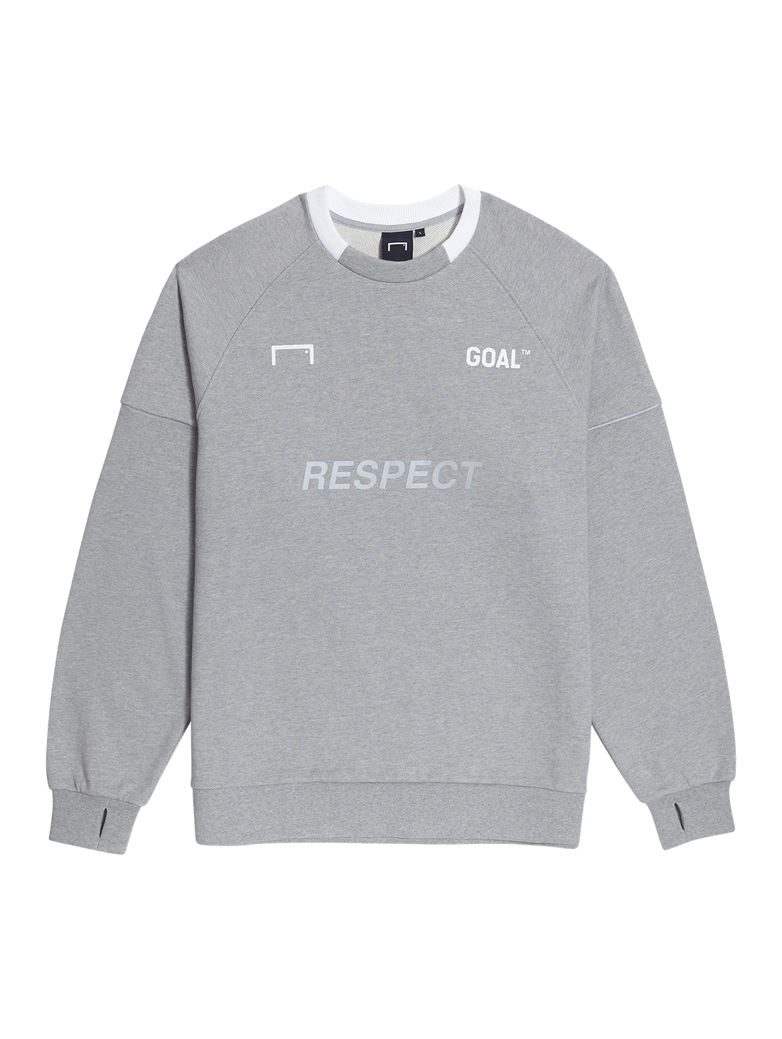 RESPECT SWEATSHIRT - GRAY