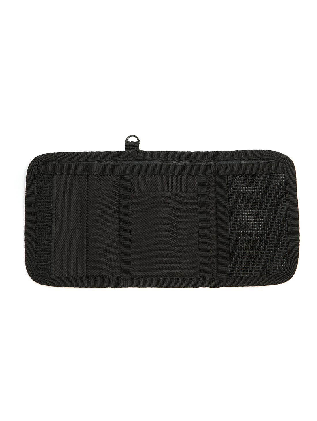 VELCRO WALLET - BLACK