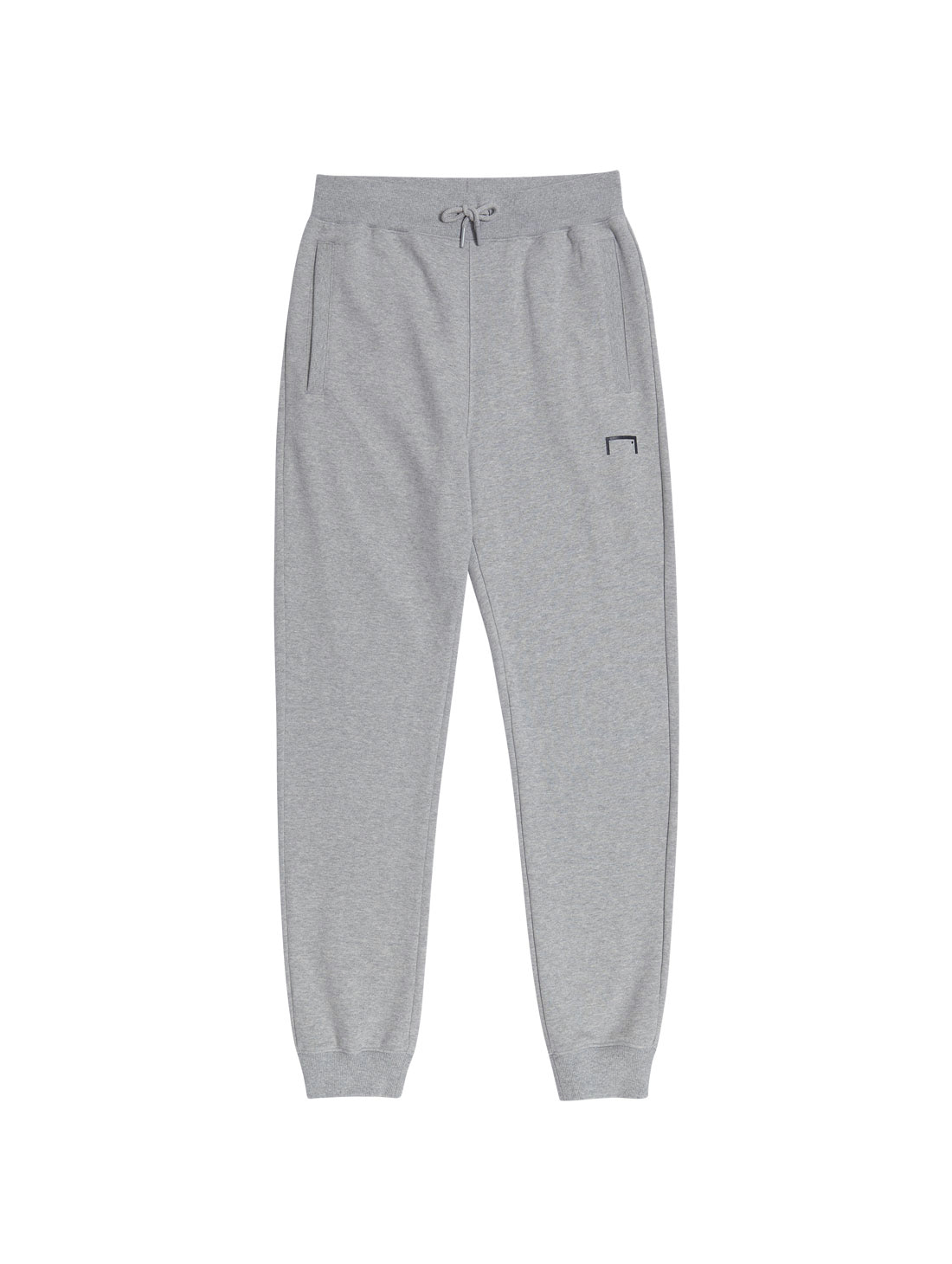 GOAL KNIT JOGGER PANTS - GRAY