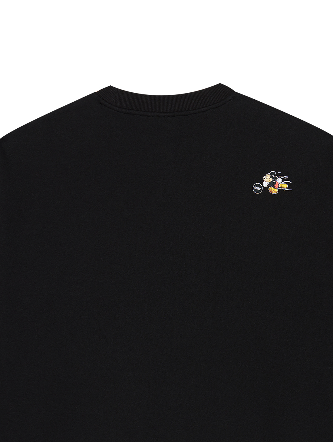 STRIKER MICKEY SWEATSHIRT - BLACK