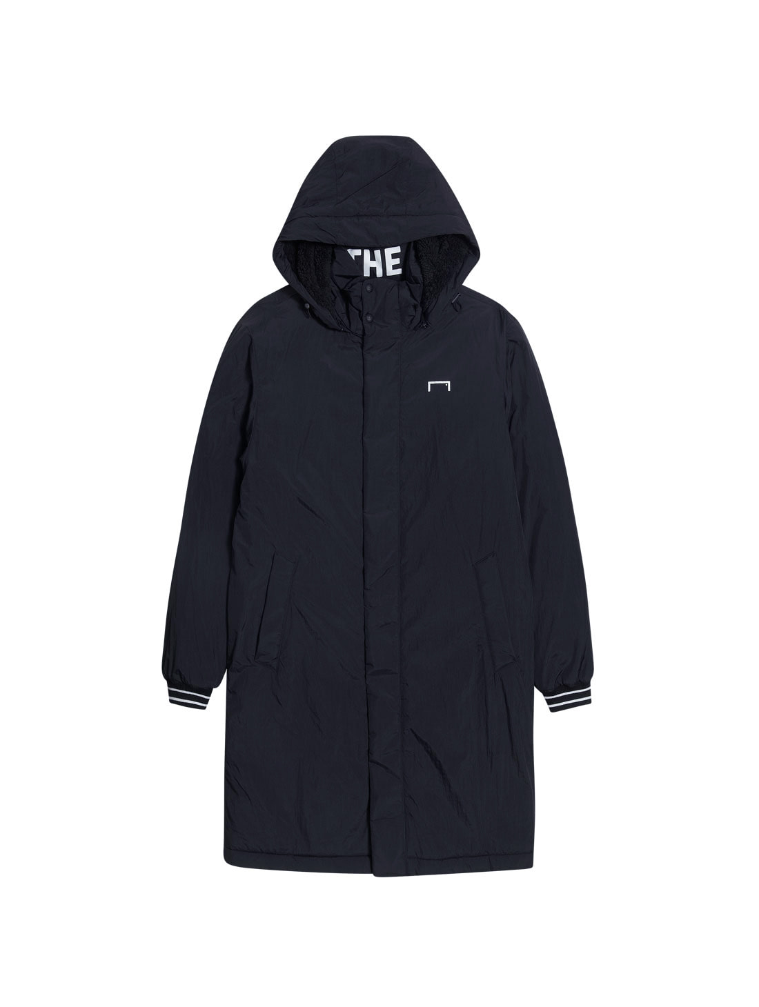 BIG LOGO LONG PARKA - BLACK[SPECIAL GIFT]