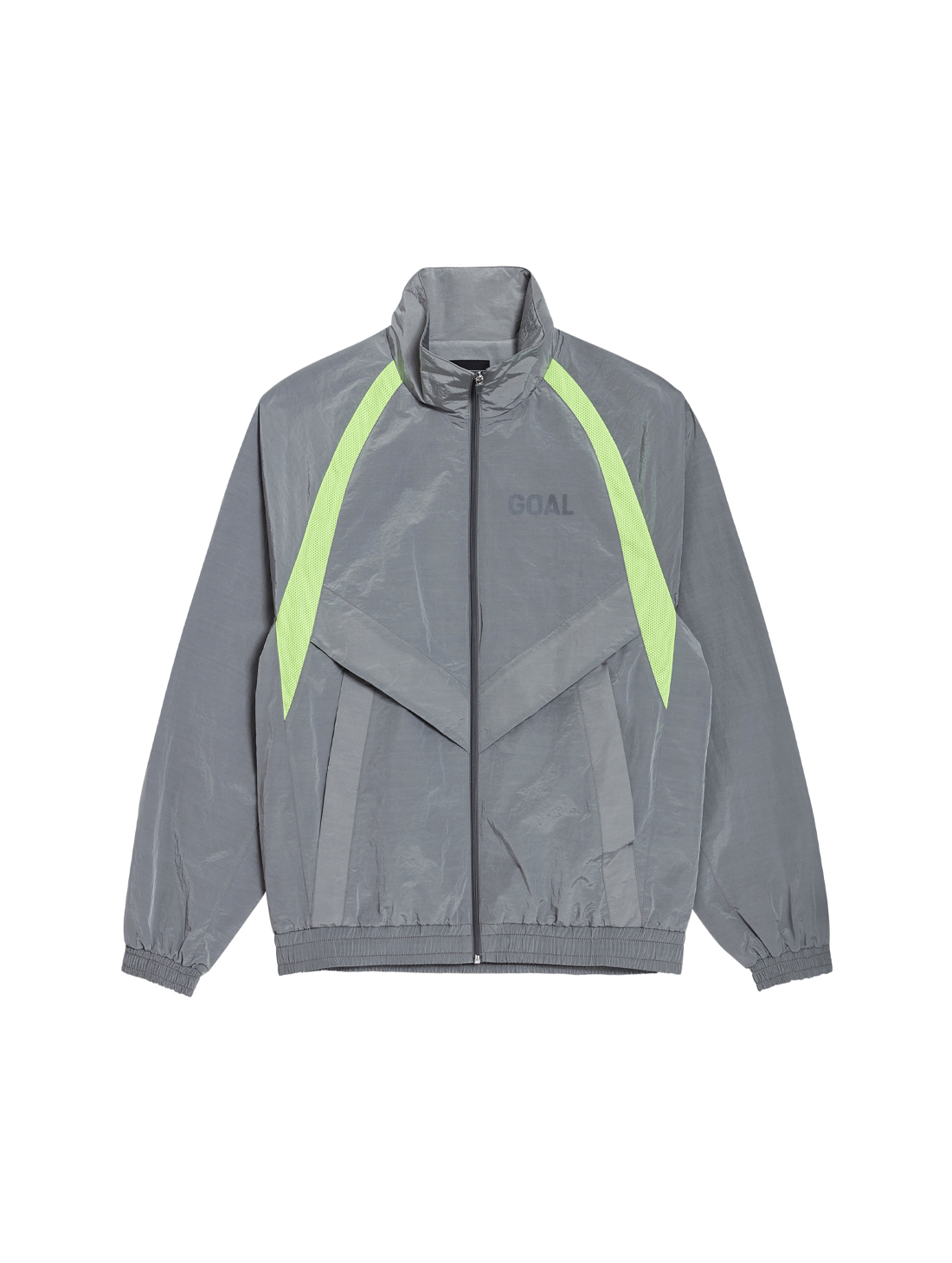 WARMUP JACKET - GREY