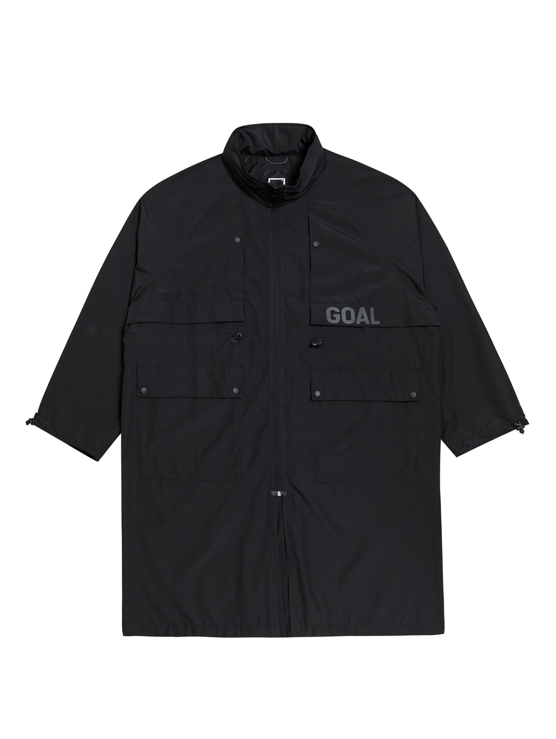LTG LONG JACKET - BLACK