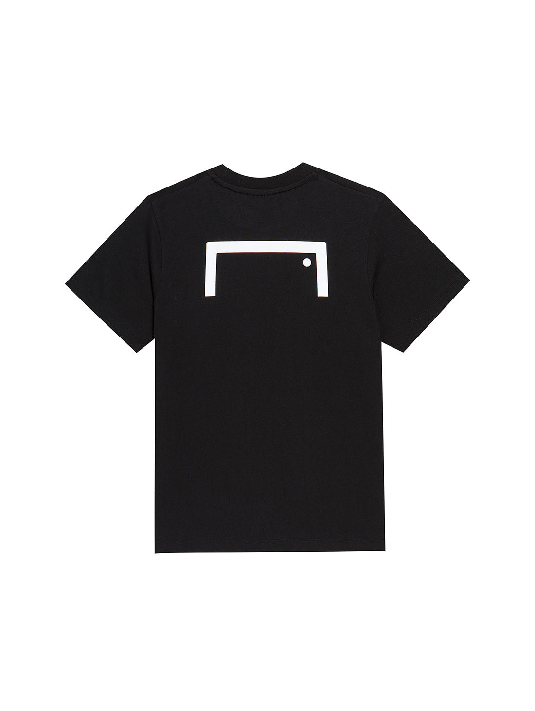 (KIDS) TEXT LOGO TEE - BLACK