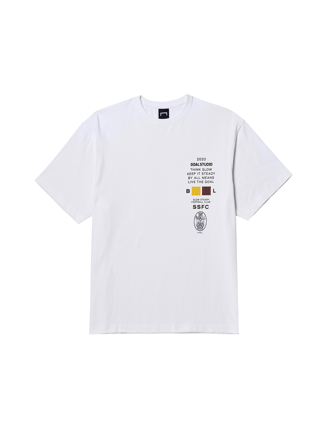 SSFC JERSEY SINGLE SHORT SLEEVE - WHITE