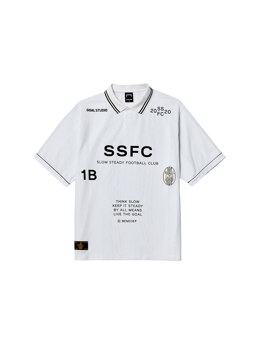 SSFC UNIFORM SHORT SLEEVE - BLACK(B)