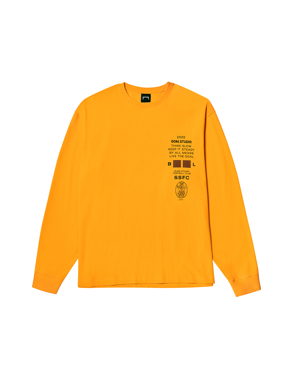 SSFC JERSEY SINGLE LONG SLEEVE - YELLOW