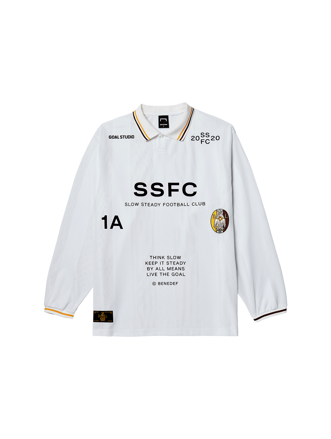 SSFC UNIFORM LONG SLEEVE - WHITE(A)