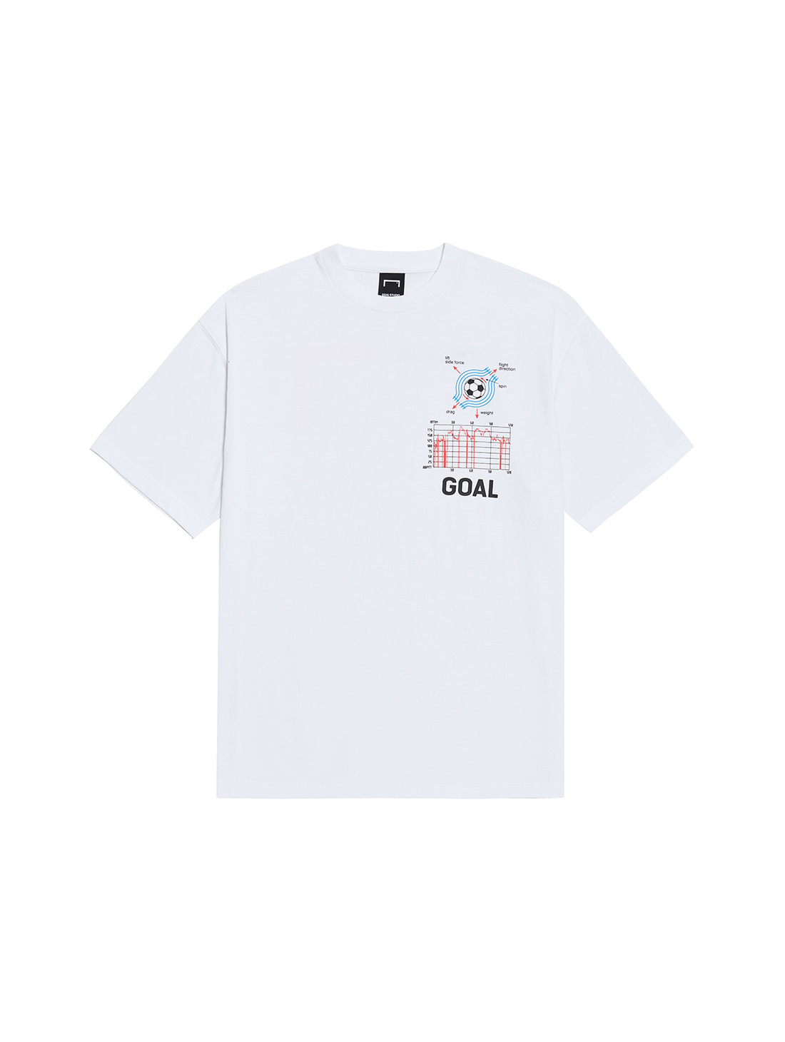 PULSE GRAPHIC SHORT SLEEVE TEE - WHITE