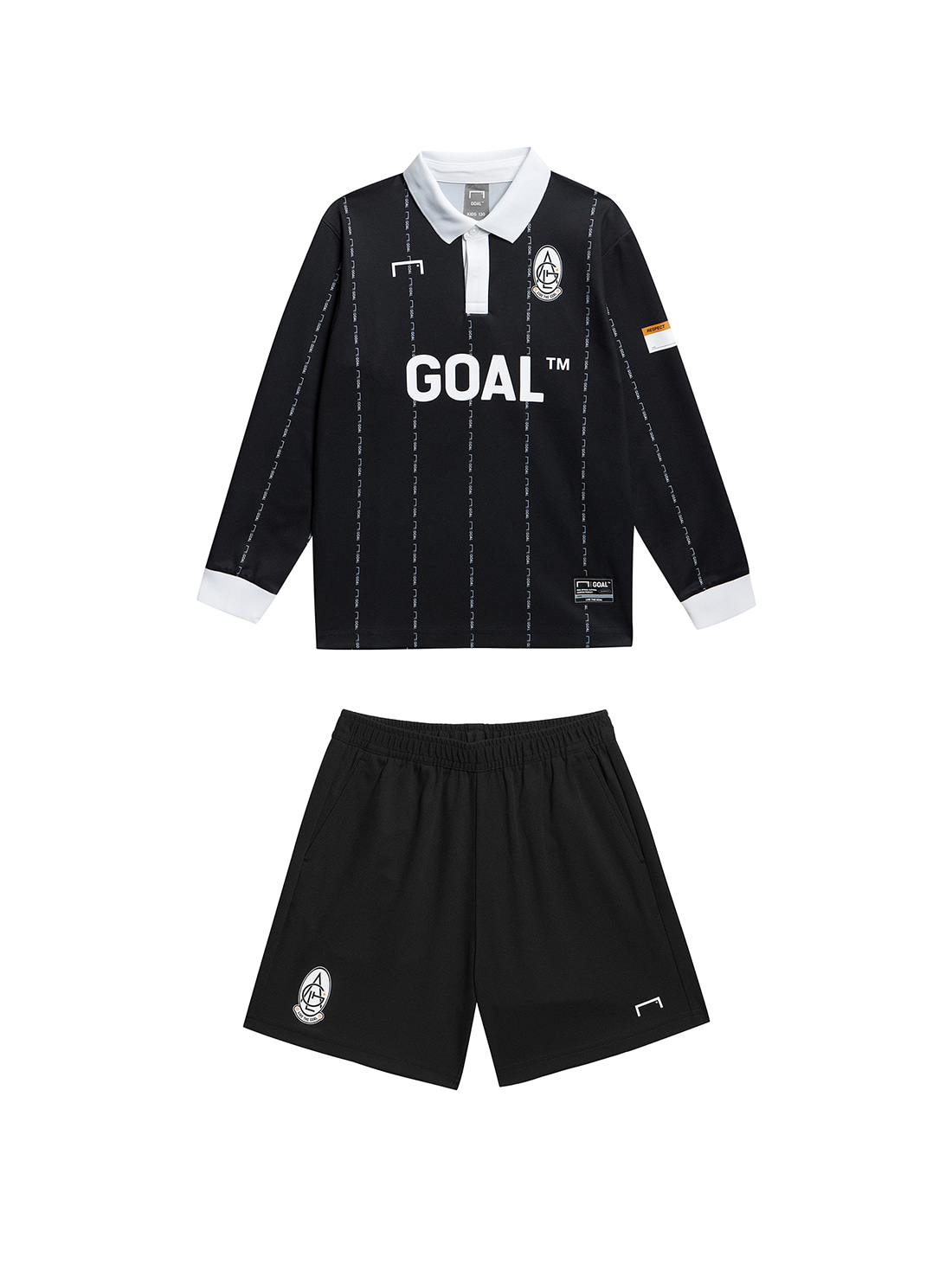 [10% OFF] (KIDS) PLAYER EMBLEM JERSEY & SHORTS SET