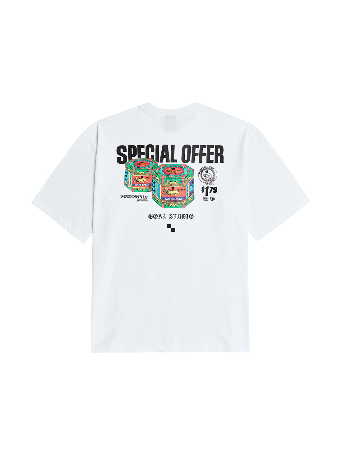 MC BALM GRAPHIC TEE - WHITE