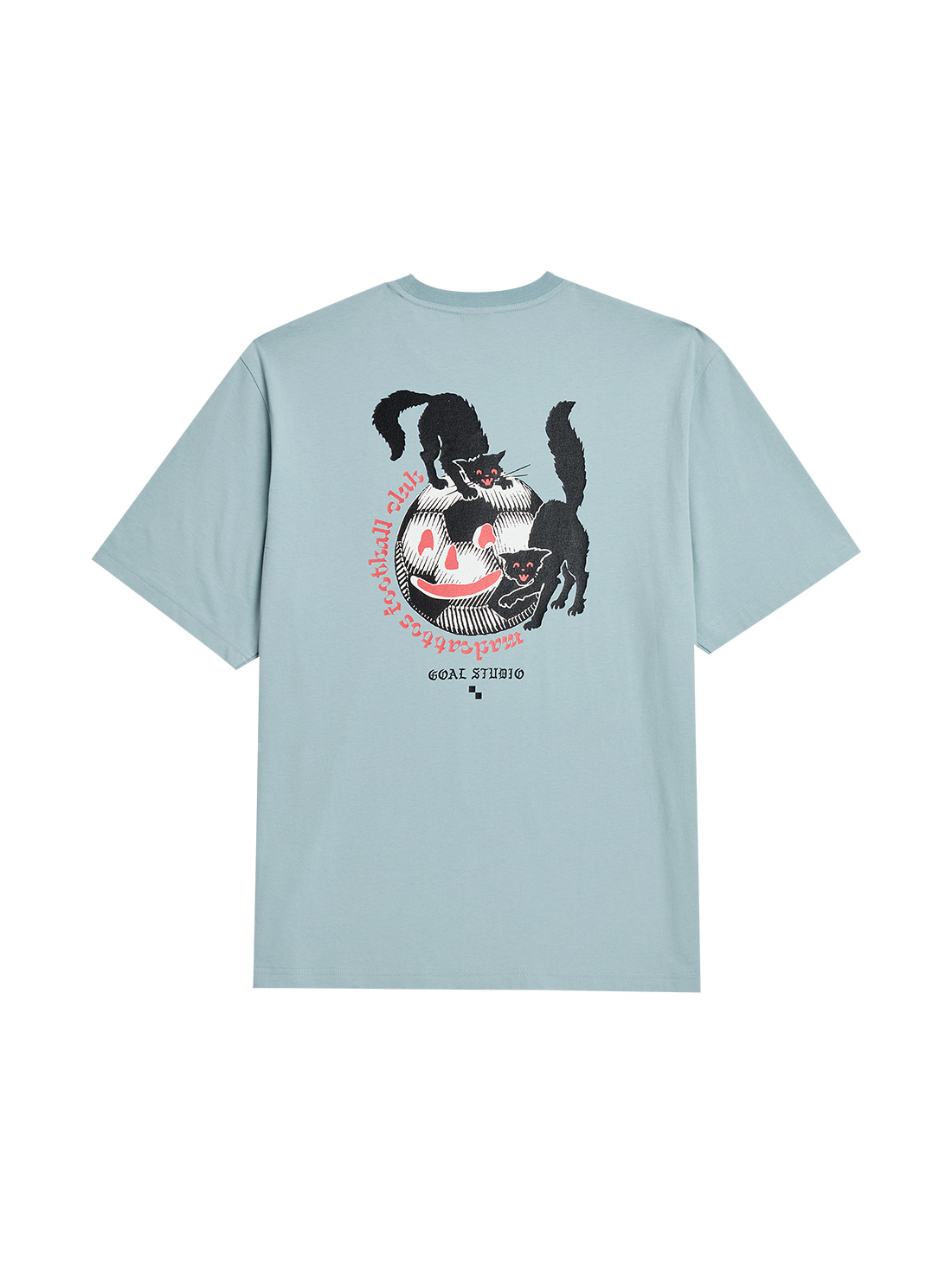 MC BALL GRAPHIC TEE - LIGHT BLUE