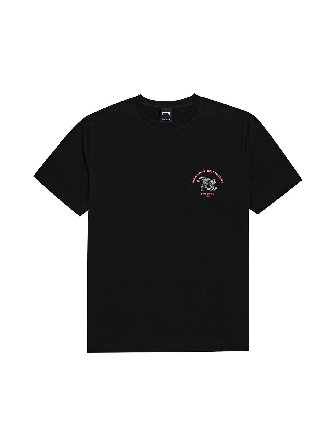 MC SMALL FRONT GRAPHIC TEE - BLACK