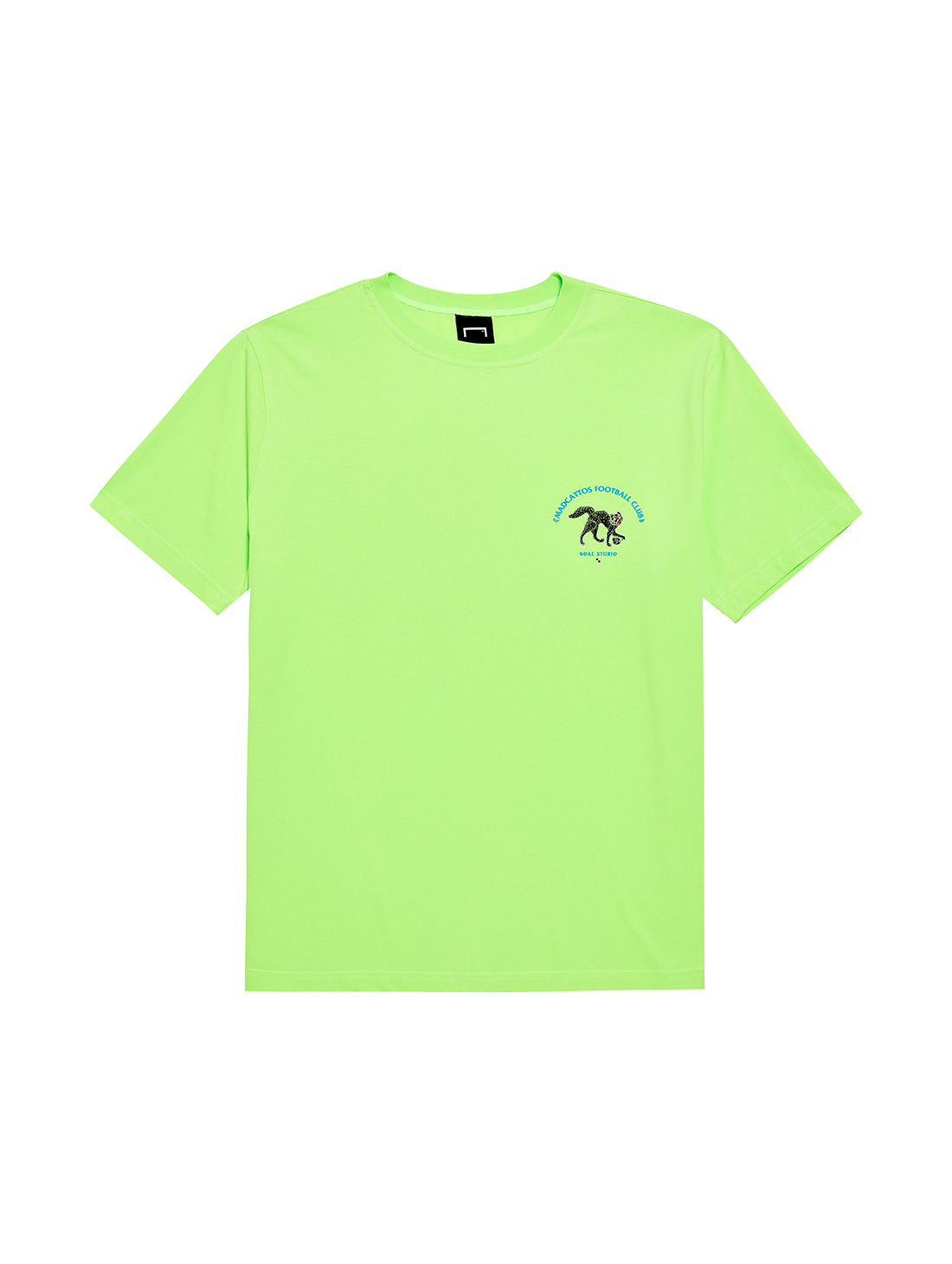 MC SMALL FRONT GRAPHIC TEE - LIME