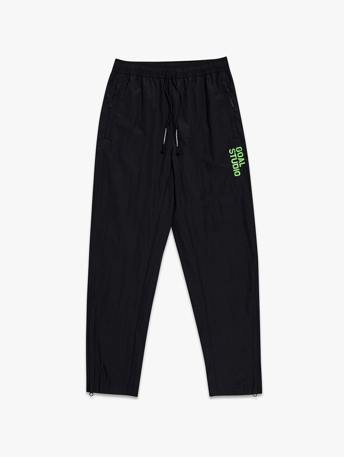 NYLON BLEND WOVEN PANTS (2 Colors)