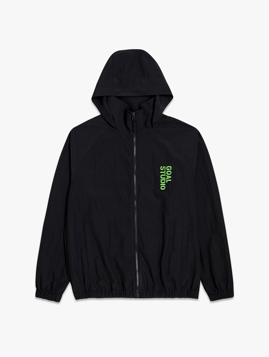 NYLON BLEND WIND BREAKER (2 Colors)